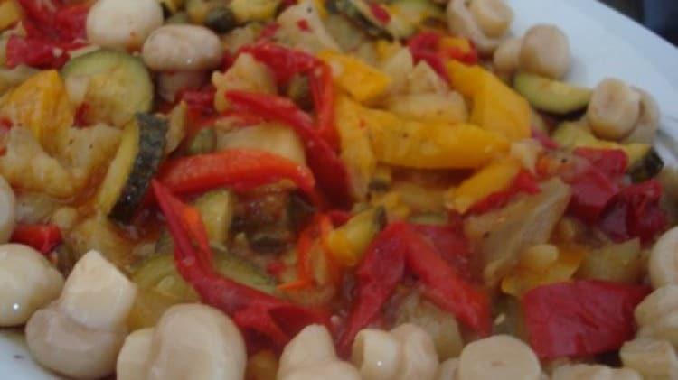 Sfizioso mix di verdure in agrodolce