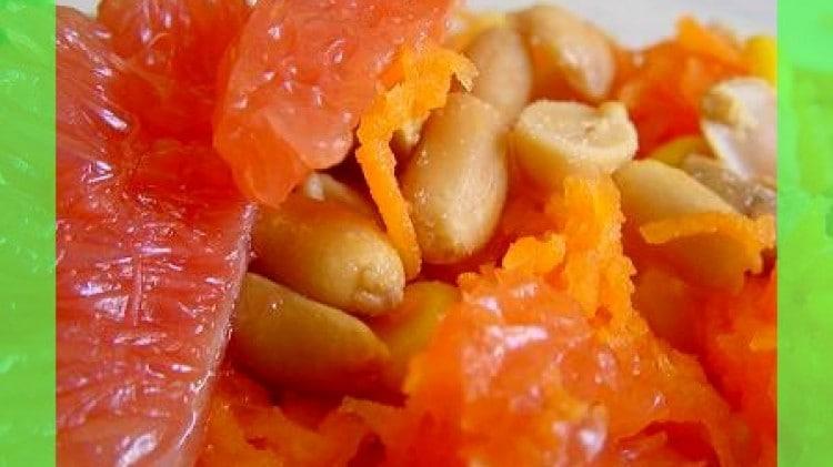 Insalata di pompelmo e carote