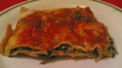 "Lasagnetta ""pazza"""