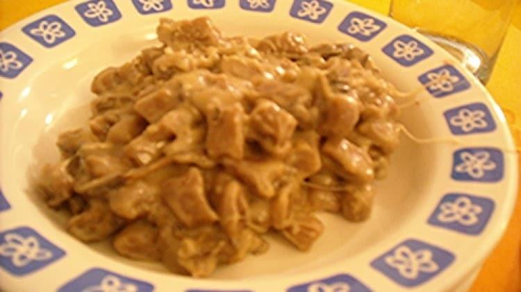 Gnocchetti di castagne ai porcini e fontina