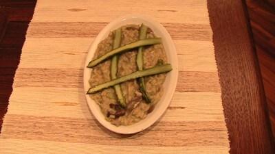Risotto asparagi e porcini