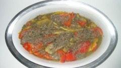 Peperoni in bagna cauda
