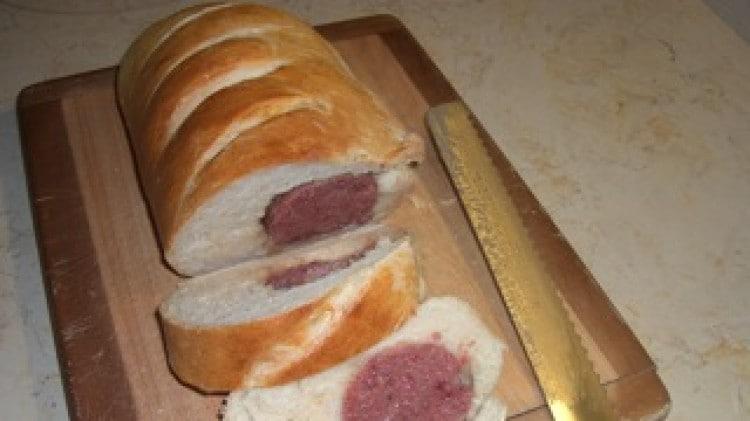 Cotechino in crosta di pane