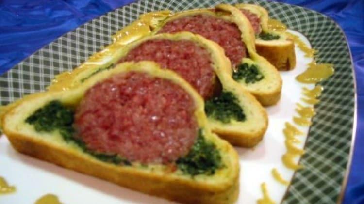 Cotechino in crosta con zabaione di aceto balsamico