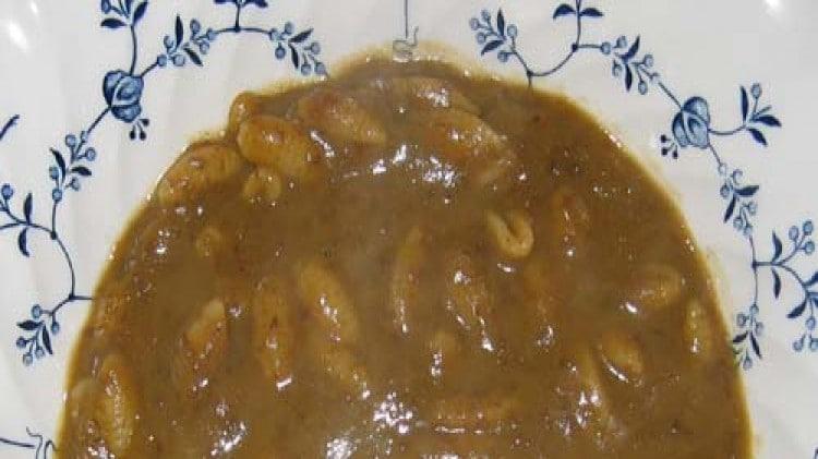 Gnocchetti in crema di lenticchie