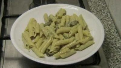 Penne al curry