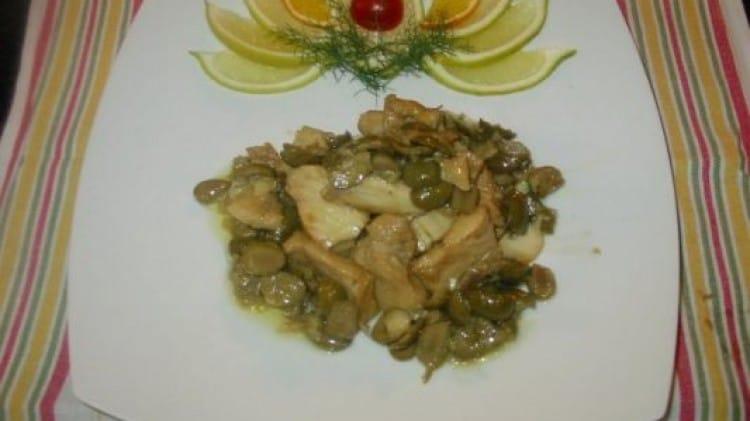 Baccalà con le olive