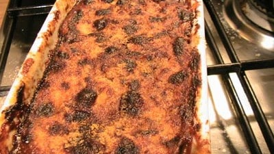 Melanzane alla parmigiana con polpo