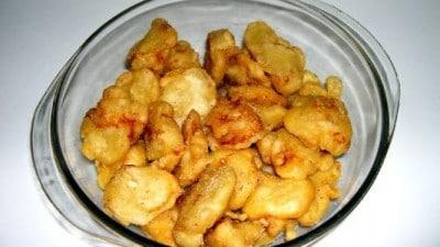 Friscioeu de baccalà (frittelle di baccalà)