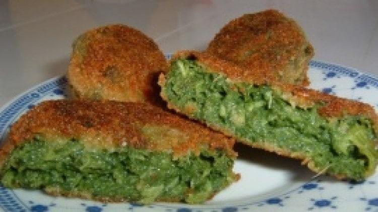 Polpette vegetali di spinaci