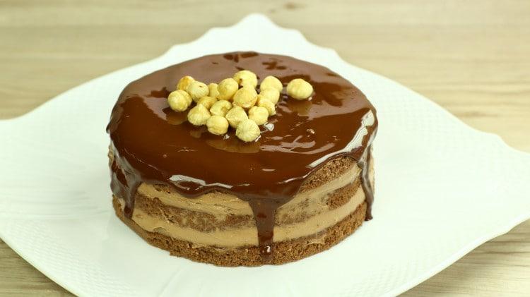 Torta al cioccolato con mascarpone e nutella