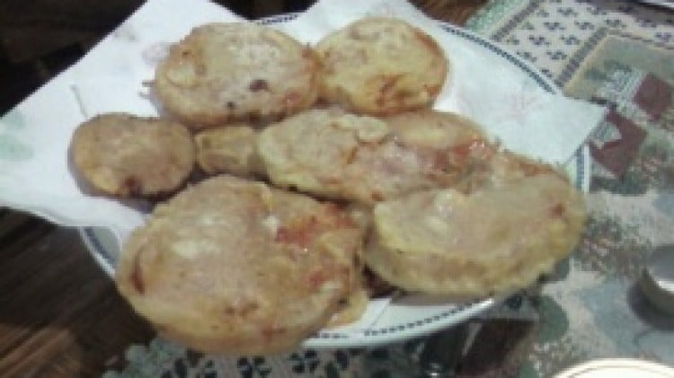 Pomodori rossi fritti