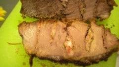 Arrosto con pancetta e rosmarino