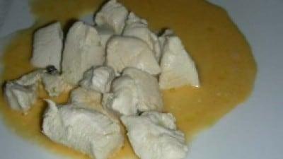Bocconcini di petto di pollo al pompelmo e limoncello