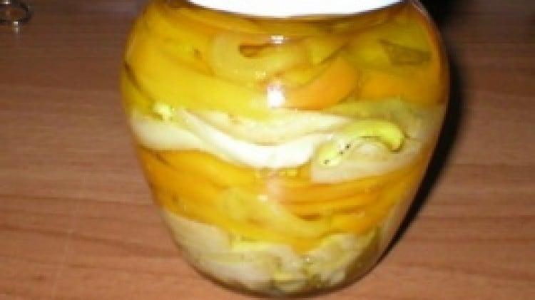 Melanzane e peperoni sott'olio