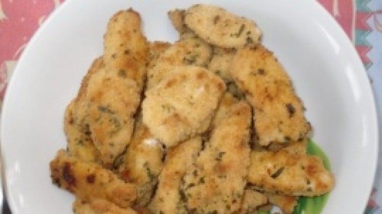 Bastoncini di pollo croccanti