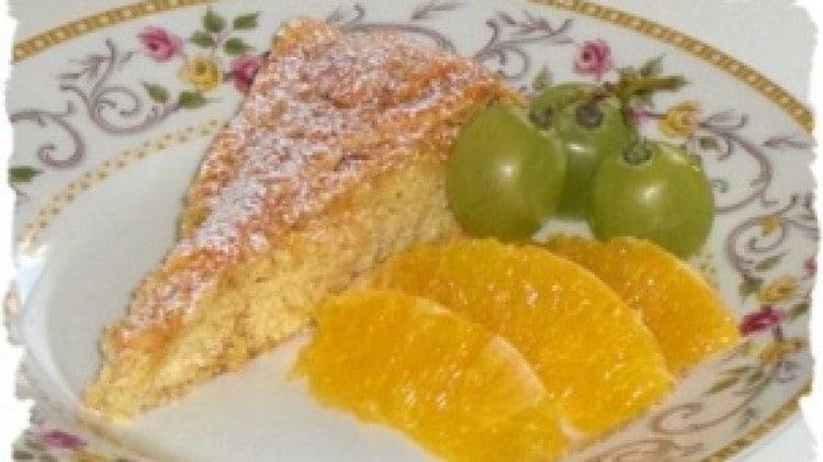 Torta corona all'arancia amara
