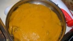 Arrosto con purea di verdure