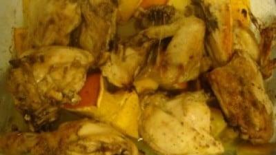 Pollo agli agrumi