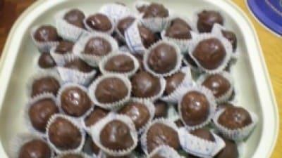 Cioccolatini con mandorle