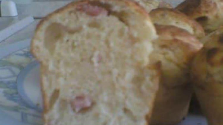 Muffins con prosciutto