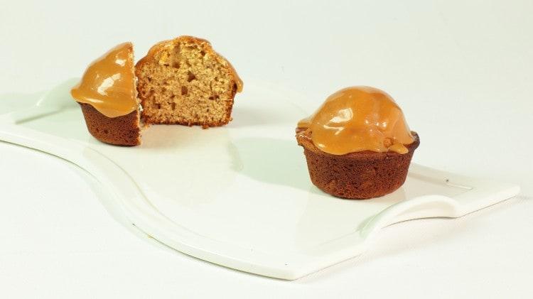 Muffins ai datteri e caramello