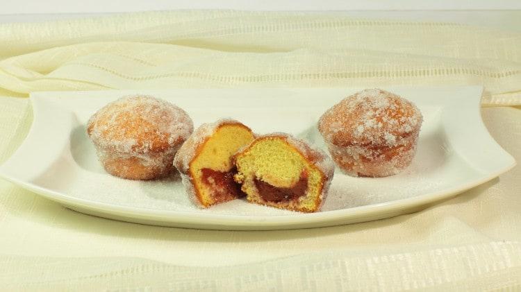 Muffins doughtnut ripieni