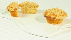 Muffins alle mele con streusel