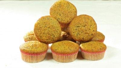 Muffins all'arancia e cioccolato