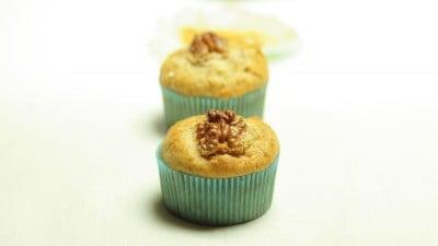Muffins al caramello e noci