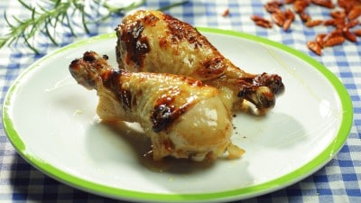 Pollo al pompelmo
