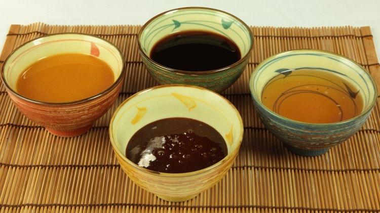Salsa miso al sake