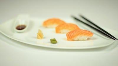 Nighiri di salmone