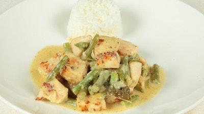 Curry verde di pollo