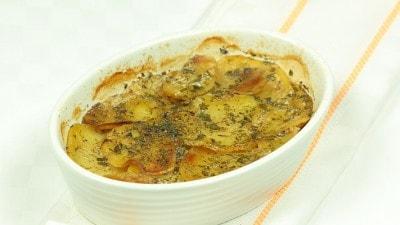 Patate con funghi e smetana