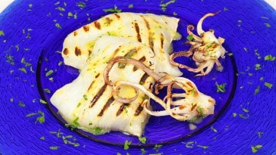 Calamari arrostiti