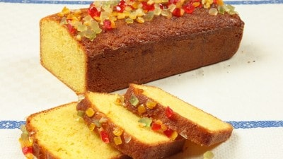 Plum cake ai canditi