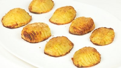 Patate impanate