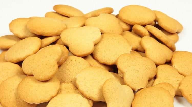 Biscotti caramellati