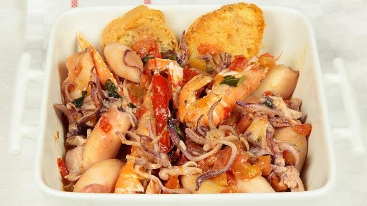 Zuppa di calamaretti