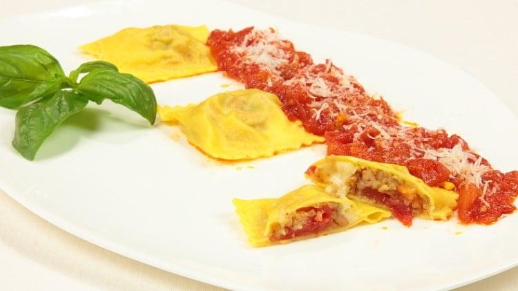 Ravioli alla parmigiana