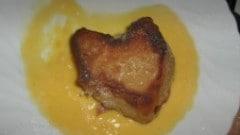 Frittelle di Pandoro con crema inglese