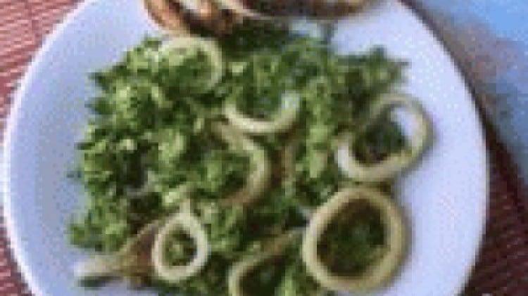 Anelli di totano e zucchine