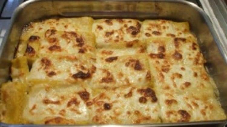 Crostini di polenta fontina e stracchino