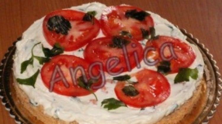 Cheesecake salata con philadelphia e gamberetti