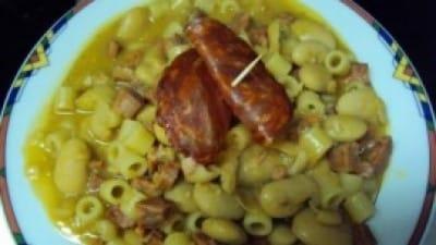 Fagiolata con salame piccante